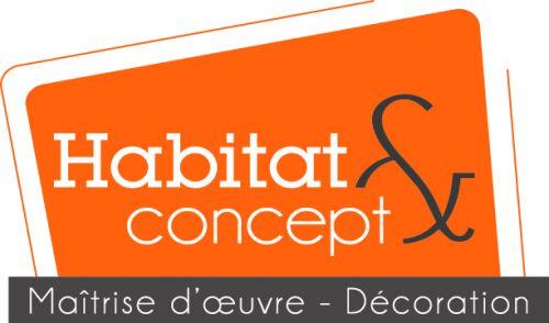 logo Habitat & Concept + base line