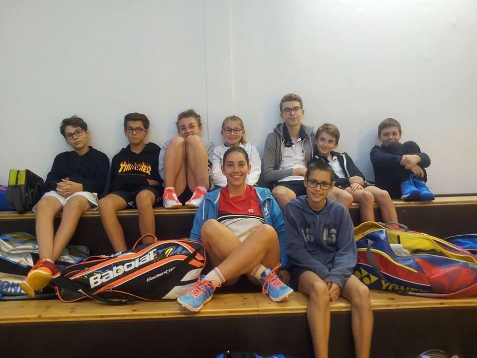 jeunes BATC sélectionnés équipe codep17-18
