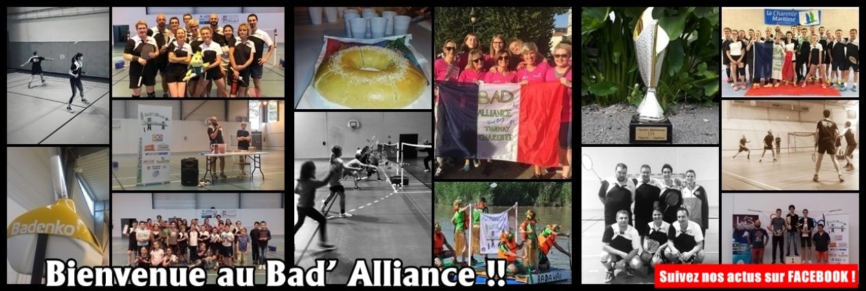 BAD'Alliance Tonnay-Charente